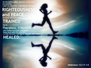 Run Hebrews inspiration
